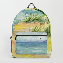 Stormy Beach Backpack