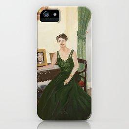Eleanor Roosevelt iPhone Case