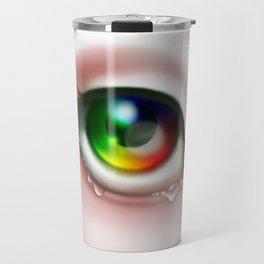 Rainbow Eye - Cry for Me Travel Mug