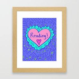 Reading! Framed Art Print