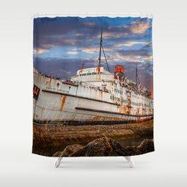 Duke of Lancaster Sunset Shower Curtain