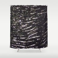 milky way Shower Curtains featuring Milky Way by Oakland.Style