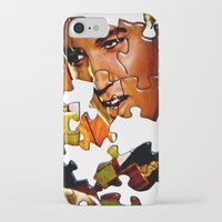 gentleman iPhone & iPod Cases featuring Gentleman by Rick Staggs