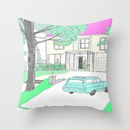 The Virgin Suicides I Throw Pillow