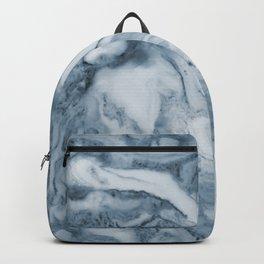 Cipollino Azzurro blue marble Backpack