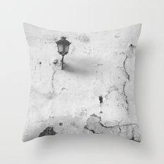 Cracked Throw Pillow