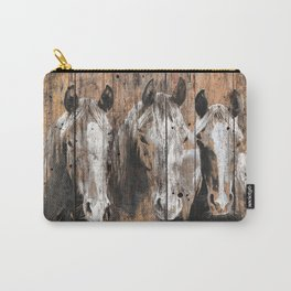 Pure Horses Carry-All Pouch