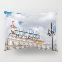 Puerta del Sol, Madrid Pillow Sham