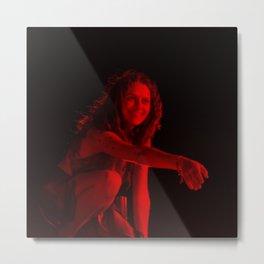 Teresa Palmer - Celebrity (Photographic Art) Metal Print