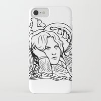 oscar wilde iPhone & iPod Cases featuring Oscar Wilde by LiseRichardson