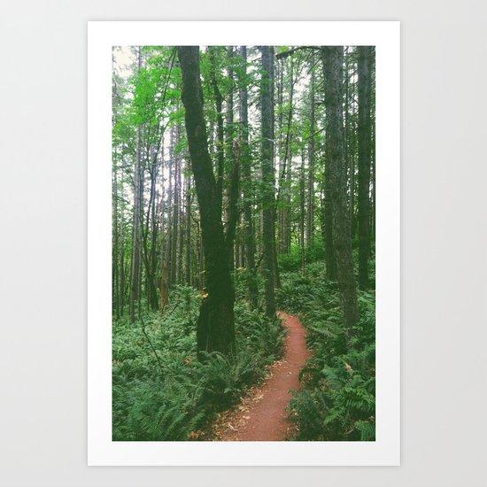 a Trail Art Print