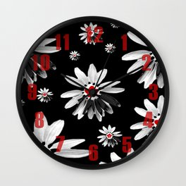 Floral design Wall Clock