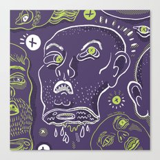 Floating Heads (Halloween Edition) Canvas Print