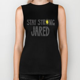 Stay Strong Jared Biker Tank
