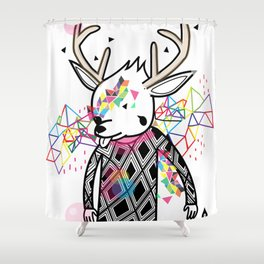 WWWWWWW OF PAUL PIERROT STYLE Shower Curtain