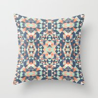 southwest Throw Pillows featuring Southwest Tribal by Beth Thompson