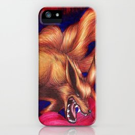 Kurama - Nine Tailed Fox iPhone Case