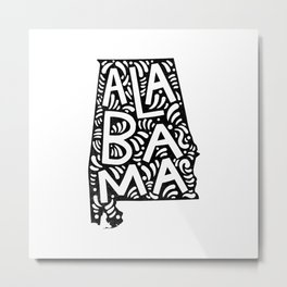 Alabama Metal Print