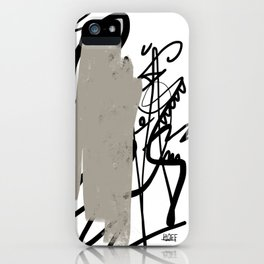 Ink draw iPhone Case