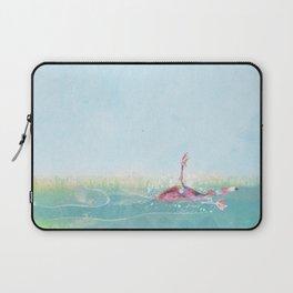 Clumsy Flamingo Laptop Sleeve