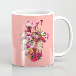 Flowery heart Coffee Mug