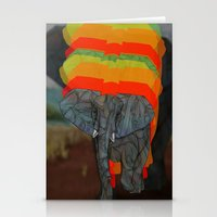 african Stationery Cards featuring African Elephant by Ben Geiger