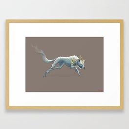 Munster Wulf Framed Art Print