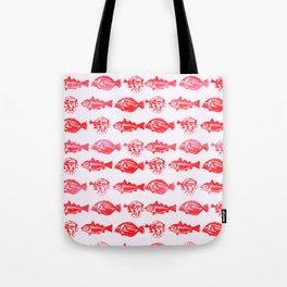 Cosmic Fish Tote Bag