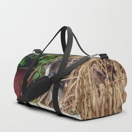 Peek-a-Boo Duffle Bag