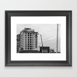 Zombieland Detroit Framed Art Print