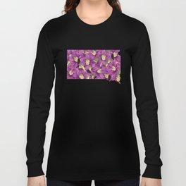 South Dakota in Flowers Long Sleeve T-shirt