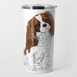 Cavalier King Charles Spaniel Blenheim Travel Mug