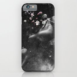 Floating soul in peace. iPhone Case