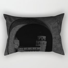 Through the Arch. Rectangular Pillow