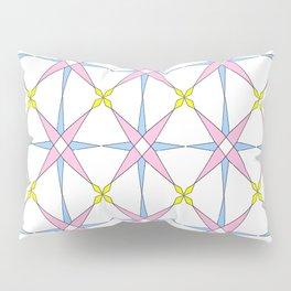 symetric patterns 45 -mandala,geometric,rosace,harmony,star,symmetry Pillow Sham