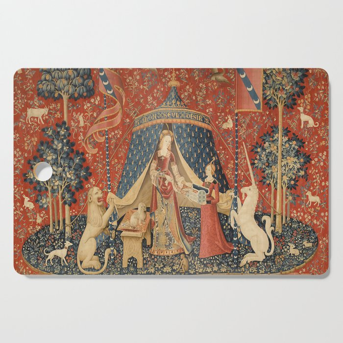 The Lady And The Unicorn Cutting Board