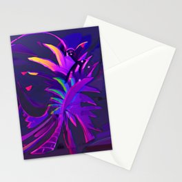 Tropical Sounds under Moon Light Stationery Cards
