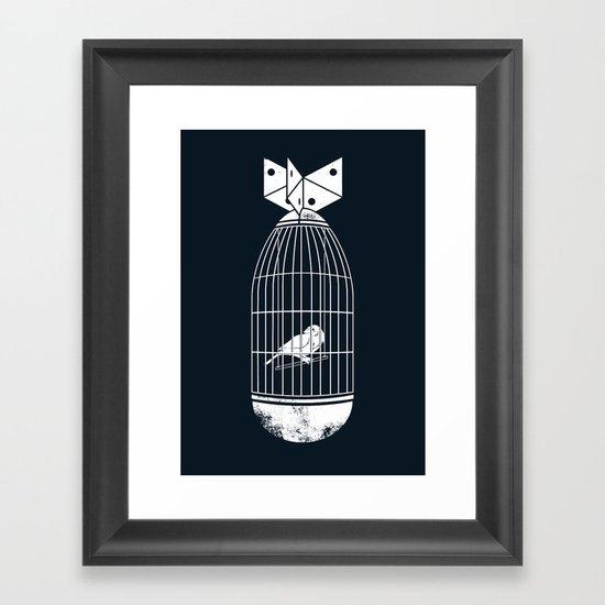 war prisoner Framed Art Print