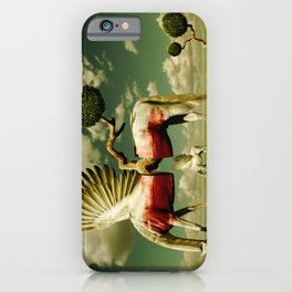 Pegasus Divided iPhone Case