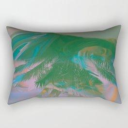 Pink Palms Rectangular Pillow