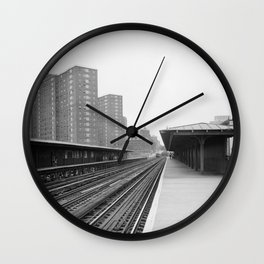 125TH STREET and BROADWAY STATION Wall Clock