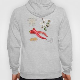 Chilli Peppers and Pollinators Hoody