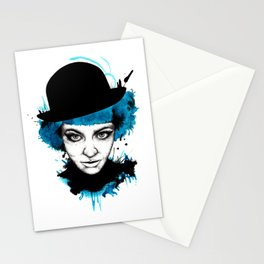 Down with the blues Stationery Cards