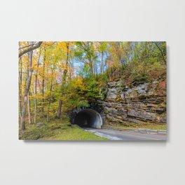 Smoky Mountain Tunnel Metal Print