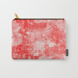 Abstract 17 - Study In Red Carry-All Pouch