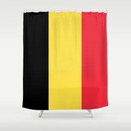 Flag of Belgium Shower Curtain