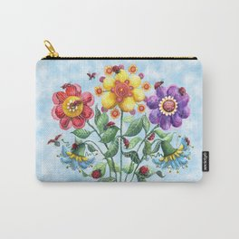 Ladybug Playground on a Summer Day Carry-All Pouch