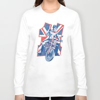 daredevil Long Sleeve T-shirts featuring Who's your favourite Daredevil by Gimetzco's Damaged Goods