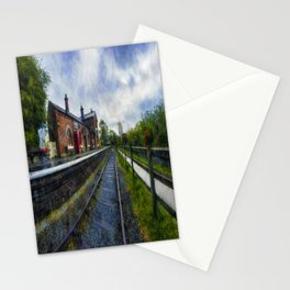 Olde Road Railway Station Stationery Cards
