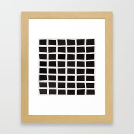 SQUARE.Grid Framed Art Print
